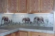 Фото 36 Панно из плитки на кухню: 110+ ярких фото идей для декора фартука и кухонной отделки