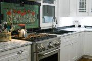 Фото 13 Панно из плитки на кухню: модификации декора стен и 80+ вариантов элегантной и запоминающейся отделки