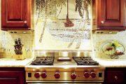 Фото 38 Панно из плитки на кухню: 110+ ярких фото идей для декора фартука и кухонной отделки