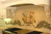 Фото 39 Панно из плитки на кухню: 110+ ярких фото идей для декора фартука и кухонной отделки