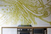 Фото 40 Панно из плитки на кухню: 110+ ярких фото идей для декора фартука и кухонной отделки