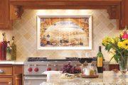 Фото 4 Панно из плитки на кухню: 80+ ярких фотоидей для декора фартука и кухонной отделки