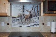 Фото 6 Панно из плитки на кухню: 110+ ярких фото идей для декора фартука и кухонной отделки