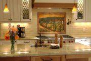 Фото 8 Панно из плитки на кухню: модификации декора стен и 80+ вариантов элегантной и запоминающейся отделки