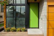 Фото 5 Пластиковые входные двери для частного дома: 70+ стильных и надежных реализаций
