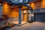 Фото 11 Пластиковые входные двери для частного дома: 70+ стильных и надежных реализаций