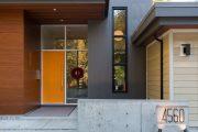 Фото 13 Пластиковые входные двери для частного дома: 70+ стильных и надежных реализаций