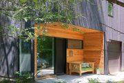 Фото 17 Пластиковые входные двери для частного дома: 70+ стильных и надежных реализаций