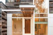 Фото 26 Пластиковые входные двери для частного дома: 70+ стильных и надежных реализаций