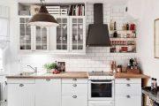 Фото 8 Плитка кабанчик на фартук кухни: виды облицовки и 80 трендовых кухонных интерьеров