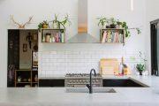Фото 13 Плитка кабанчик на фартук кухни: виды облицовки и 80 трендовых кухонных интерьеров
