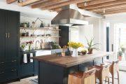 Фото 39 Плитка кабанчик на фартук кухни: виды облицовки и 80 трендовых кухонных интерьеров