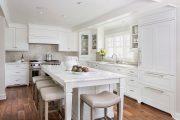 Фото 15 Плитка кабанчик на фартук кухни: виды облицовки и 80 трендовых кухонных интерьеров