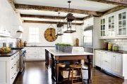 Фото 20 Плитка кабанчик на фартук кухни: виды облицовки и 80 трендовых кухонных интерьеров