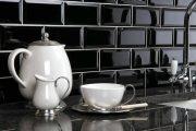 Фото 9 Плитка кабанчик на фартук кухни: виды облицовки и 80 трендовых кухонных интерьеров