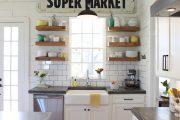 Фото 25 Плитка кабанчик на фартук кухни: виды облицовки и 80 трендовых кухонных интерьеров