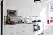 Фото 29 Плитка кабанчик на фартук кухни: виды облицовки и 80 трендовых кухонных интерьеров