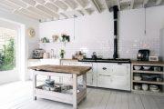 Фото 40 Плитка кабанчик на фартук кухни: виды облицовки и 80 трендовых кухонных интерьеров