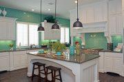 Фото 33 Плитка кабанчик на фартук кухни: виды облицовки и 80 трендовых кухонных интерьеров