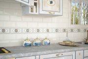 Фото 5 Плитка кабанчик на фартук кухни: виды облицовки и 80 трендовых кухонных интерьеров