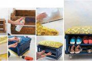 Фото 13 Полки для обуви в прихожую: 70 потрясающих идей для коридора своими руками