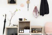 Фото 18 Полки для обуви в прихожую: 70 потрясающих идей для коридора своими руками