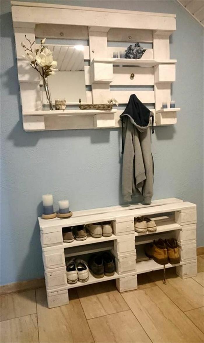 Как сделать мебель своими руками прихожая