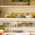 Полки на кухню: смарт-организация кухонного пространства и 75 решений, в которых все на своих местах фото