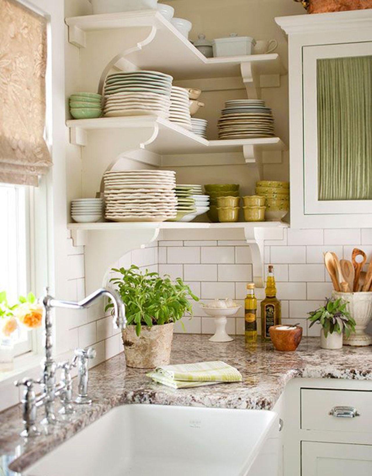 Маленькая кухня прованс своими руками