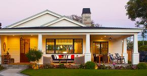 Проекты домов из пеноблоков с гаражом: специфика конструкций и 60+ готовых комфортабельных вариантов фото
