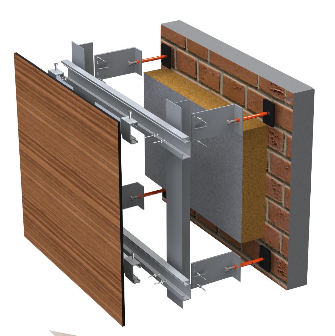 Как обустроить вентилируемый фасад? 1 | Дока-Мастер