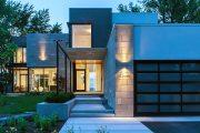 Фото 14 Проекты домов из пеноблоков с гаражом: специфика конструкций и 60+ готовых комфортабельных вариантов