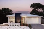 Фото 19 Проекты домов из пеноблоков с гаражом: специфика конструкций и 60+ готовых комфортабельных вариантов