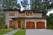 Фото 23 Проекты домов из пеноблоков с гаражом: специфика конструкций и 60+ готовых комфортабельных вариантов