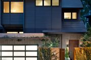 Фото 25 Проекты домов из пеноблоков с гаражом: специфика конструкций и 60+ готовых комфортабельных вариантов