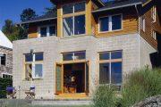 Фото 29 Проекты домов из пеноблоков с гаражом: специфика конструкций и 60+ готовых комфортабельных вариантов
