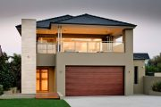 Фото 7 Проекты домов из пеноблоков с гаражом: специфика конструкций и 60+ готовых комфортабельных вариантов