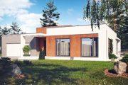 Фото 4 Проекты домов из пеноблоков с гаражом: специфика конструкций и 60+ готовых комфортабельных вариантов