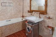 Фото 12 Раковина над стиральной машиной: особенности установки и 85+ продуманных решений для функциональной ванной комнаты (2019)