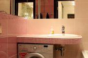 Фото 28 Раковина над стиральной машиной: особенности установки и 70 продуманных решений для функциональной ванной комнаты