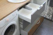 Фото 36 Раковина над стиральной машиной: особенности установки и 70 продуманных решений для функциональной ванной комнаты