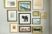 Фото 24 Рамки для фотографий на стену: коллажи для интерьера и 80+ избранных решений по композиции