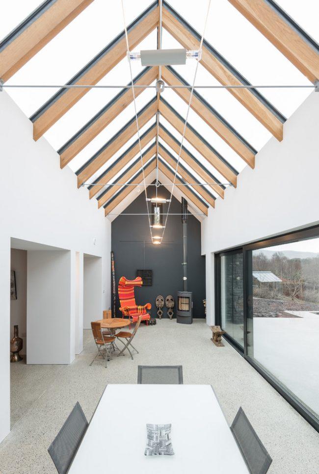Закаленное стекло - долговечный качественный материал для панорамной террасы