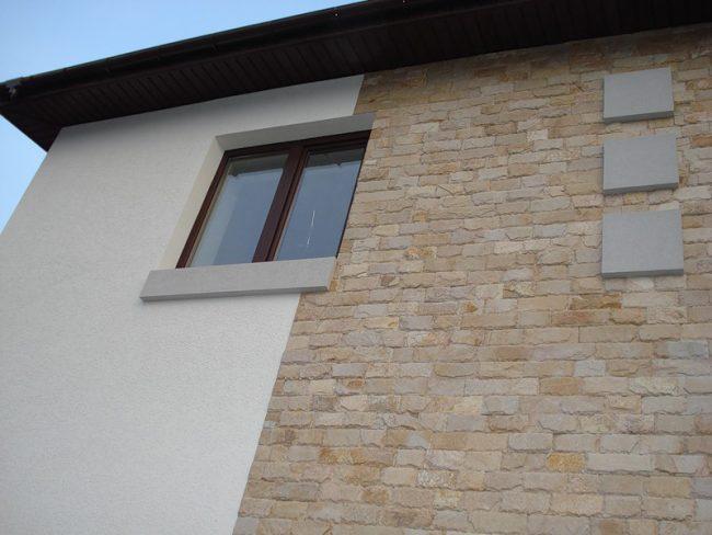 Экологически чистый материал для отделки внешних стен