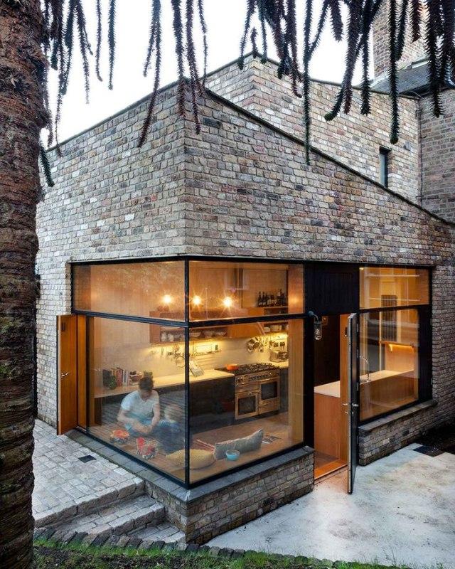 Идеально ровные внешние стены благодаря качественной установке обрешетки