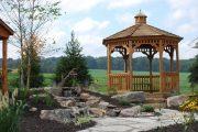 Фото 16 Решетки для беседки: особенности конструкций и 75 вдохновляющих идей для вашего сада