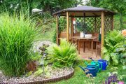 Фото 27 Решетки для беседки: особенности конструкций и 75 вдохновляющих идей для вашего сада