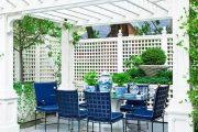 Фото 30 Решетки для беседки: особенности конструкций и 75 вдохновляющих идей для вашего сада