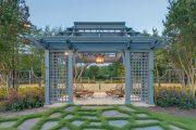 Фото 32 Решетки для беседки: особенности конструкций и 75 вдохновляющих идей для вашего сада