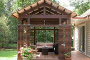 Фото 35 Решетки для беседки: особенности конструкций и 75 вдохновляющих идей для вашего сада